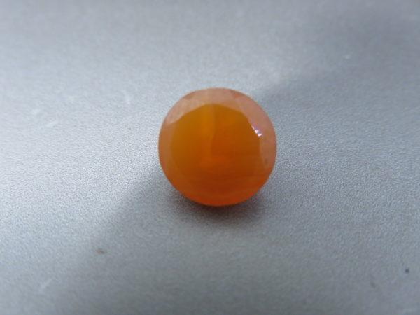 Round Orange Agate